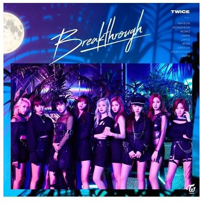 TWICE JAPAN ALBUM BREAKTHROUGH