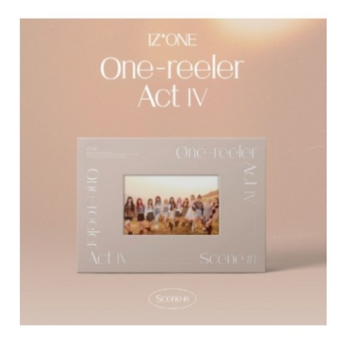 IZONE ONE-REELER ACT IV (4TH MINI ALBUM)