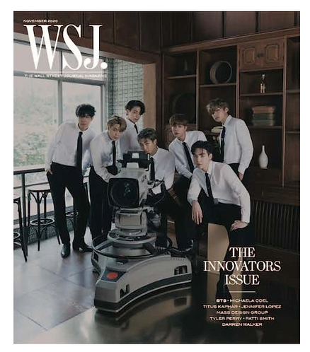 WSJ X BTS SPECIAL EDITION COVER