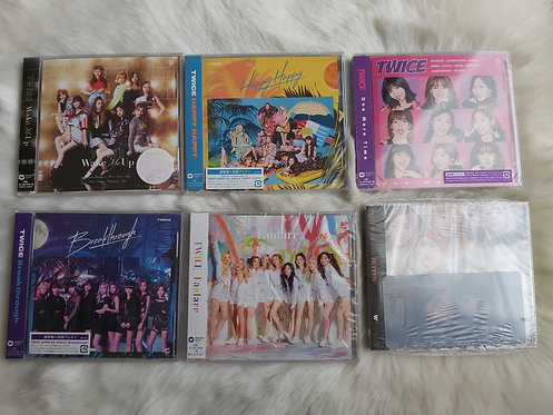 ONHAND TWICE JAPAN ALBUMS