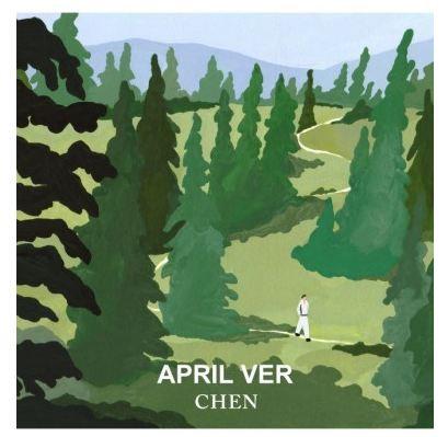CHEN(EXO) APRIL AND A FLOWER (1ST MINI ALBUM)