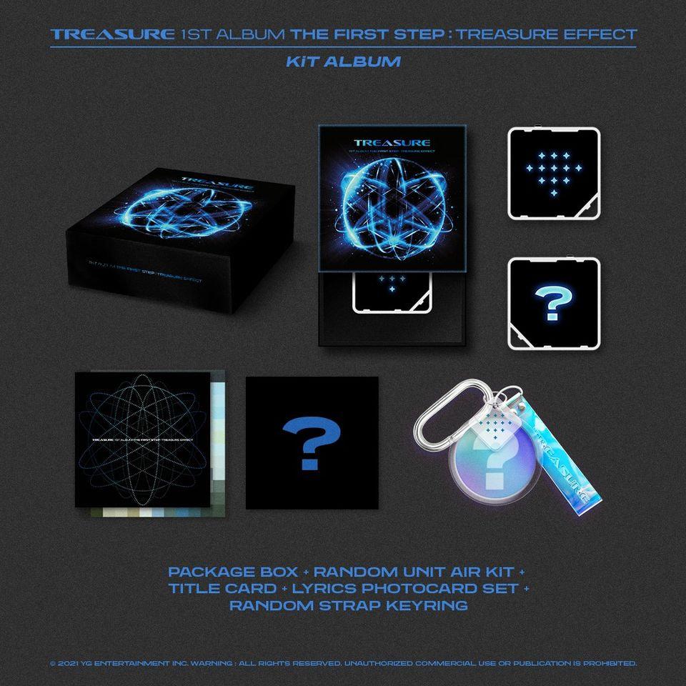 Air Kit Treasure The First Step Treasure Effect 1st Full Album Shop