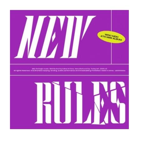 WEKI MEKI NEW RULES (4TH MINI ALBUM)