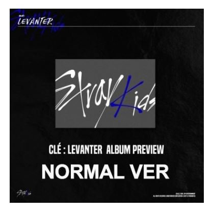 STRAY KIDS  CLE: LEVANTER (STANDARD EDITION)