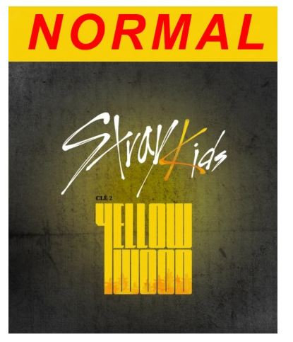 STRAY KIDS CLE:2 YELLOW WOOD (STANDARD VER)