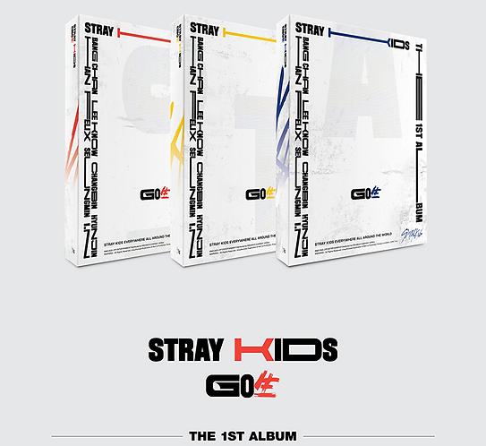 STRAY KIDS GO (1ST ALBUM) STANDARD VERSION