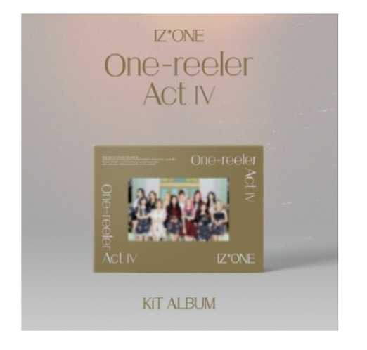(AIR-KIT) IZONE ONE-REELER ACT IV (4TH MINI ALBUM)