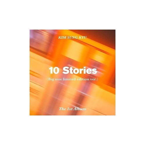 KIM SUNG GYU - 10 STORIES (1ST ALBUM( LIMITED