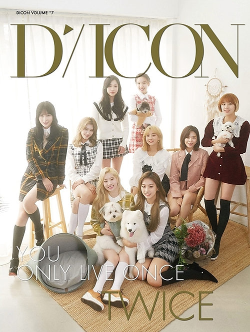 DICON VOL 7 TWICE YOU ONLY LIVE ONCE JAPAN EDITION