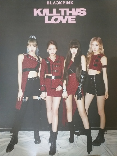 ONHAND BLACKPINK KILL THIS LOVE ONE-SIDED LIMITED POSTER