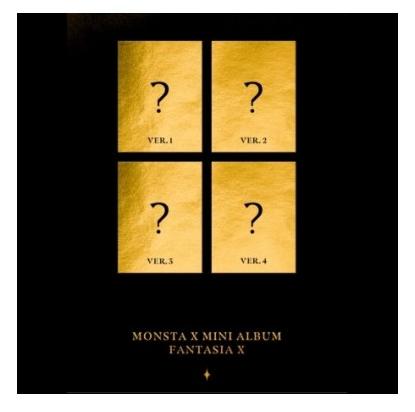 MONSTA X FANTASIA X (MINI ALBUM)