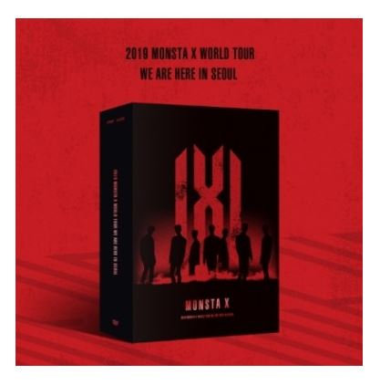 MONSTA X 2019 WORLD TOUR WE ARE HERE IN SEOUL DVD