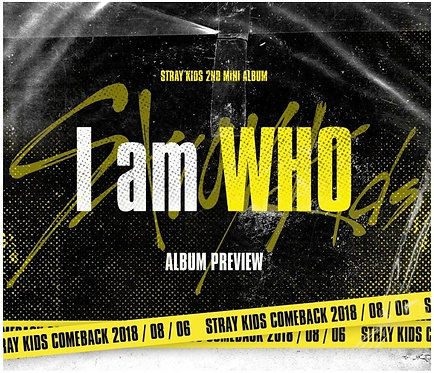 STRAY KIDS - I AM WHO (2ND MINI ALBUM)