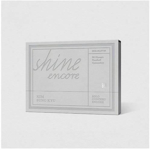 KIM SUNG GYU SHINE (SOLO CONCERT) DVD