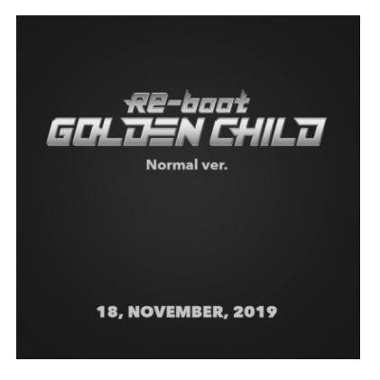 GOLDEN CHILD RE-BOOT (1ST ALBUM) NORMAL VER