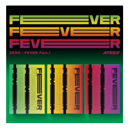 ATEEZ ZERO FEVER PART 1 (5TH MINI ALBUM)