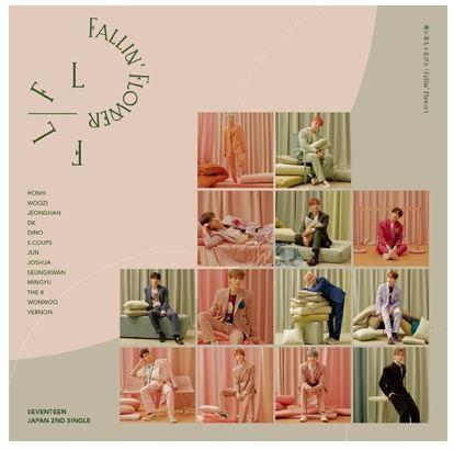 SEVENTEEN JAPAN ALBUM FALLIN FLOWER