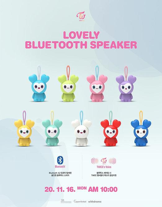 TWICE LOVELY BLUETOOTH SPEAKER