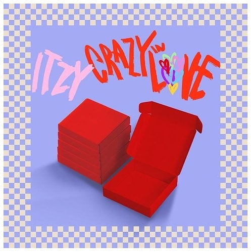 ITZY CRAZY IN LOVE (1ST ALBUM)
