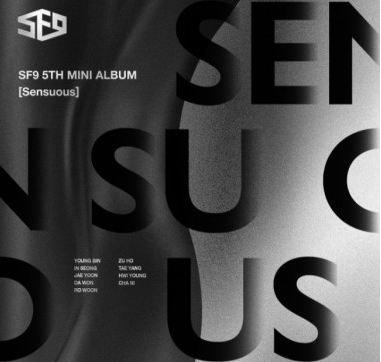 SF9 - 5TH MINI ALBUM SENSUOUS