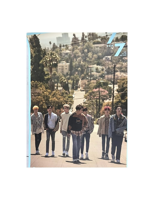 ONHAND GOT7 7 FOR 7 OFFICIAL POSTER