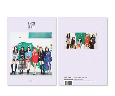 G-IDLE I AM (1ST MINI ALBUM)
