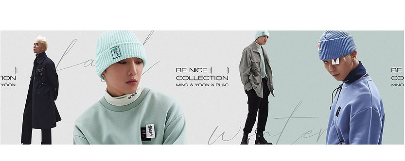 PLAC X MINOYOON BE NICE COLLECTION