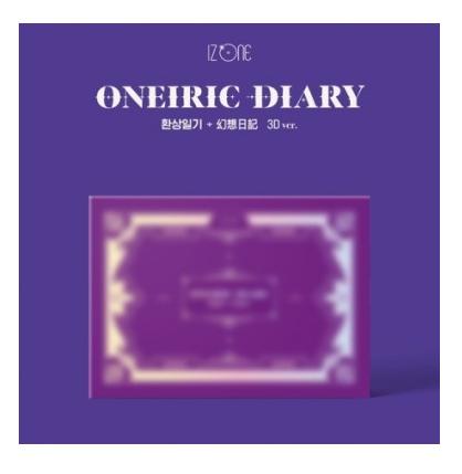 IZONE ONEIRIC DIARY (3RD MINI ALBUM) 3D VERSION