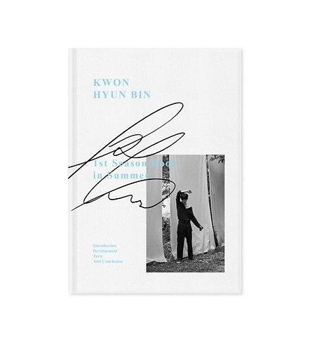 KWON HYUN BIN 1ST SEASON BOOK IN SUMMER PHOTOBOOK