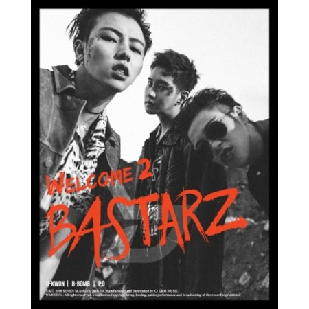 BLOCK B - WELCOME 2 BASTARZ (2ND MINI ALBUM)