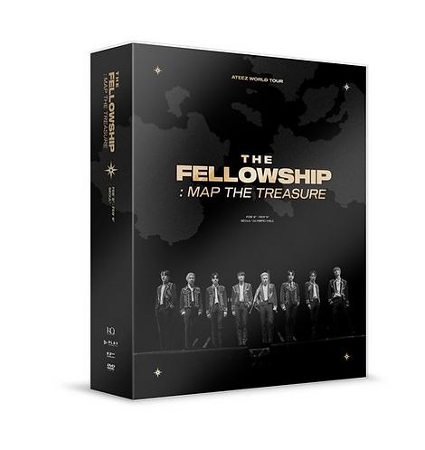 ATEEZ WORLD TOUR THE FELLOWSHIP MAP THE TREASURE SEOUL DVD