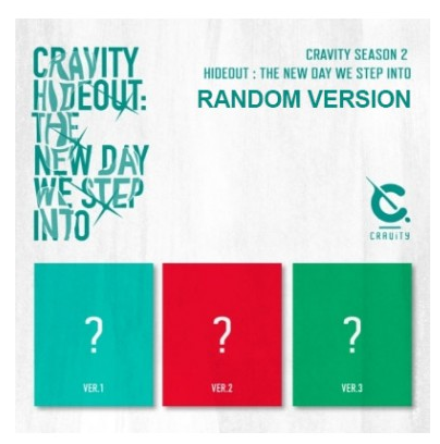 CRAVITY SEASON2 HIDEOUT THE NEW DAY WE STEP INTO