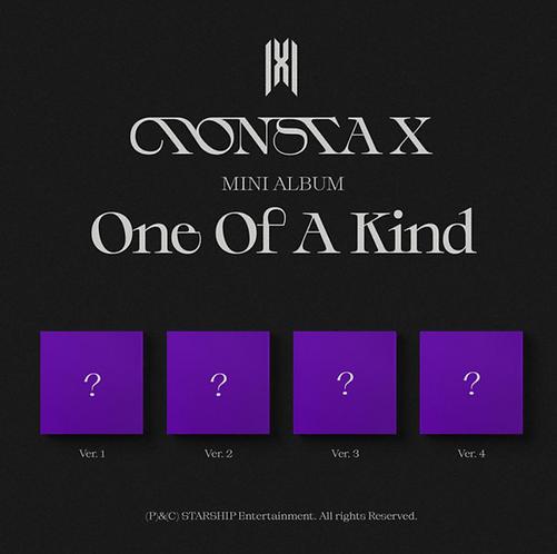 MONSTA X ONE OF A KIND (9TH MINI ALBUM)