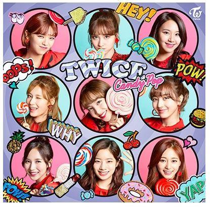 TWICE JAPAN ALBUM CANDY POP