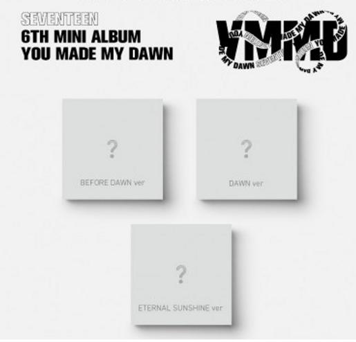 SEVENTEEN YOU MADE MY DAWN (6TH MINI ALBUM )