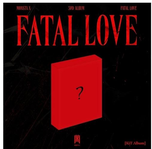 MONSTA X FATAL LOVE (3RD ALBUM) AIR-KIT