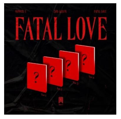 MONSTA X FATAL LOVE (3RD ALBUM)
