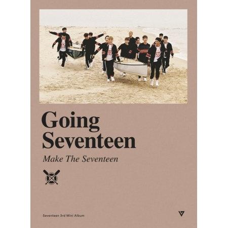SEVENTEEN - GOING SEVENTEEN (3RD MINI ALBUM) RANDOM