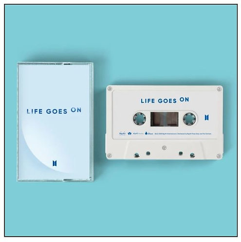 BTS LIFE GOES ON LIMITED EDITION CASSETTE