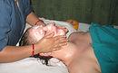 massage aux huiles ou karité