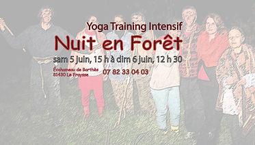 2021, 06-05 et 06 nuit affiche yoga nuit