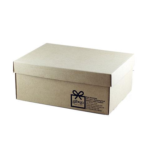 Large Corrugate Natural Gift Box