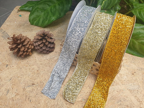 Glitter Ribbon Set - ริบบิ้น Glitter 38mm.
