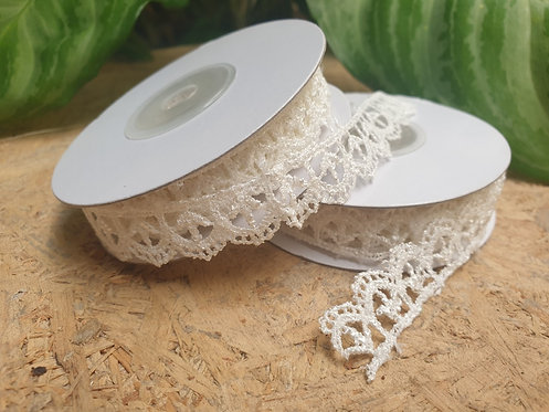 Water Drop Shape Lace Ribbon - ริบบิ้นผ้าลูกไม้