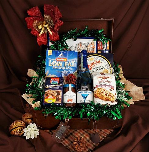 กระเช้าพรีเมียม- Choc&Cookies Set E