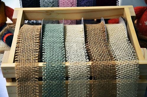 Finge edge Ribbon Set - ริบบิ้นผ้ากระสอบ สไตส์ธรรมชาติ