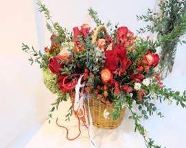 Flower Basket 0049