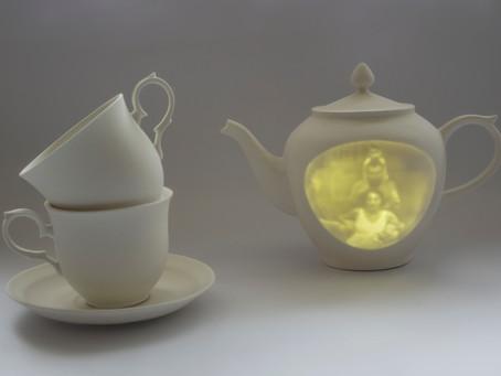 Porcelain Past, 2019, איה מרגוליס בן יצחק