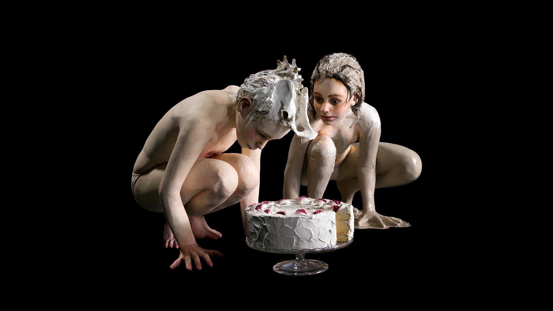 העוגה, 2020, רונית ברנגה. צילום: הדר סייפן