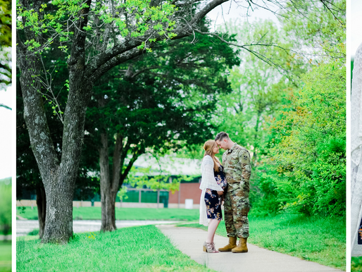 Brooke + Travis   Maternity Session in Rolla, MO   St. Louis Photography